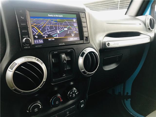 2018 Jeep Wrangler JK Unlimited Sahara (Stk: EE899020) in Surrey - Image 18 of 26