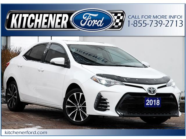 2018 Toyota Corolla SE (Stk: 8F10940A) in Kitchener - Image 1 of 18