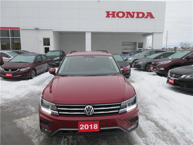 2018 Volkswagen Tiguan Trendline (Stk: 26419A) in Ottawa - Image 2 of 11