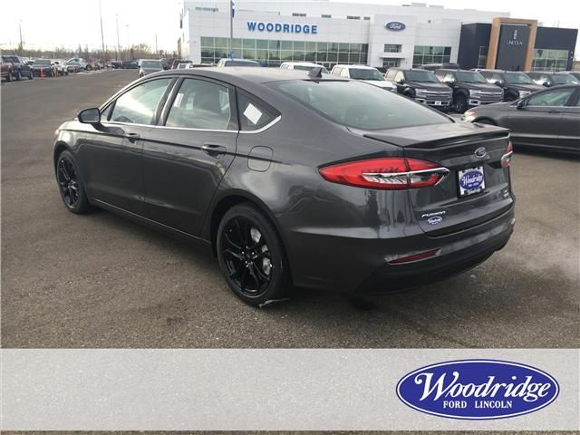 2019 Ford Fusion SE (Stk: K-188) in Calgary - Image 3 of 6