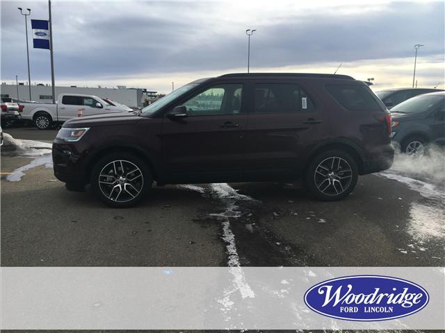 2019 Ford Explorer Sport (Stk: K-284) in Calgary - Image 2 of 6