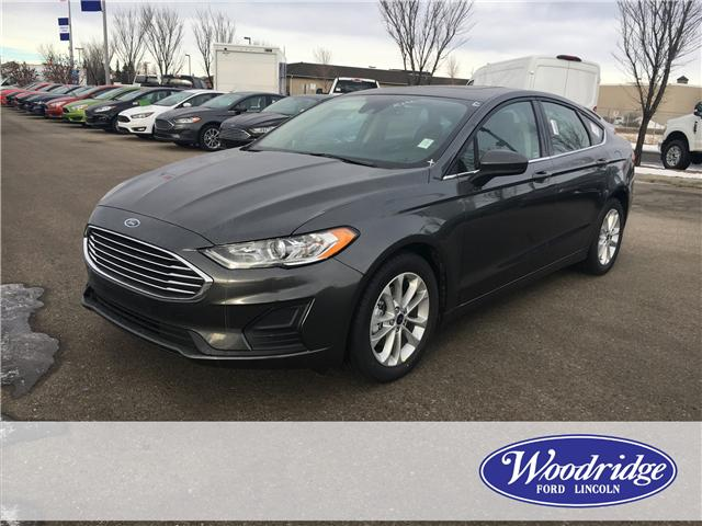 2019 Ford Fusion SE (Stk: K-292) in Calgary - Image 1 of 5