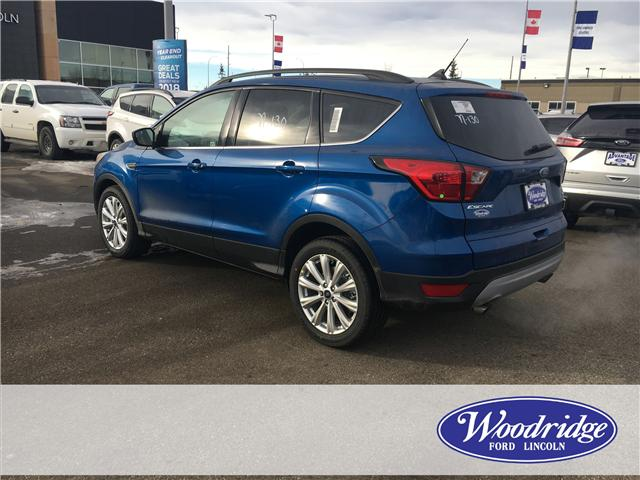 2019 Ford Escape SEL (Stk: K-610) in Calgary - Image 3 of 5