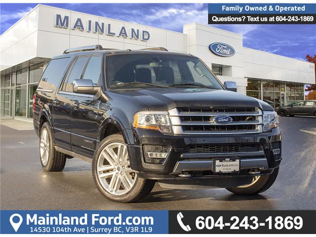 2017 Ford Expedition Max Platinum (Stk: P1465) in Surrey - Image 1 of 29