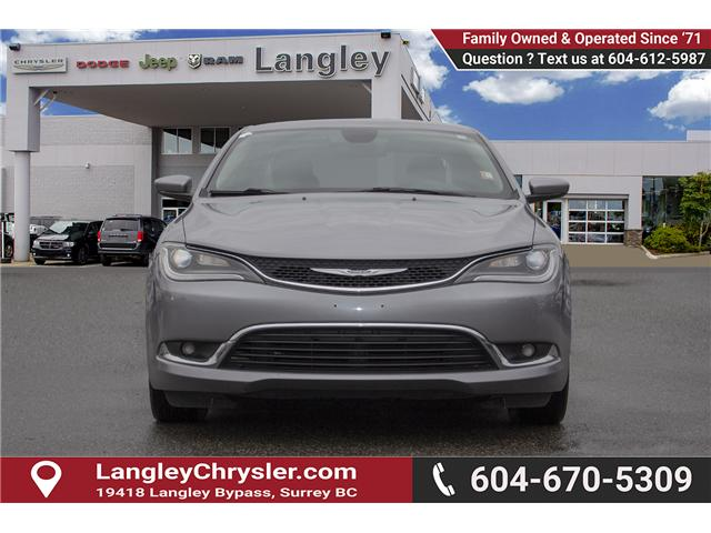 2015 Chrysler 200 Limited (Stk: EE896890A) in Surrey - Image 2 of 25