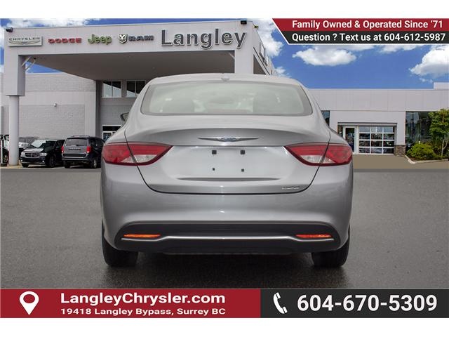 2015 Chrysler 200 Limited (Stk: EE896890A) in Surrey - Image 5 of 25
