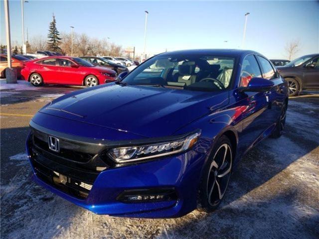 2019 Honda Accord Sport 1.5T (Stk: 2190374) in Calgary - Image 4 of 9