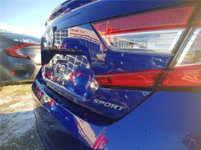 2019 Honda Accord Sport 1.5T (Stk: 2190374) in Calgary - Image 6 of 9