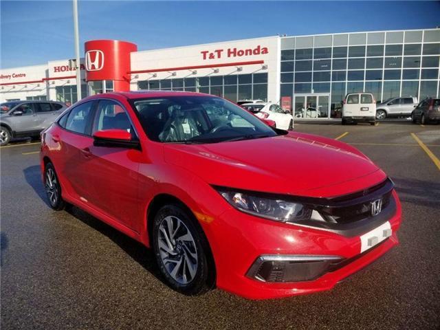 2019 Honda Civic EX (Stk: 2190220) in Calgary - Image 1 of 9