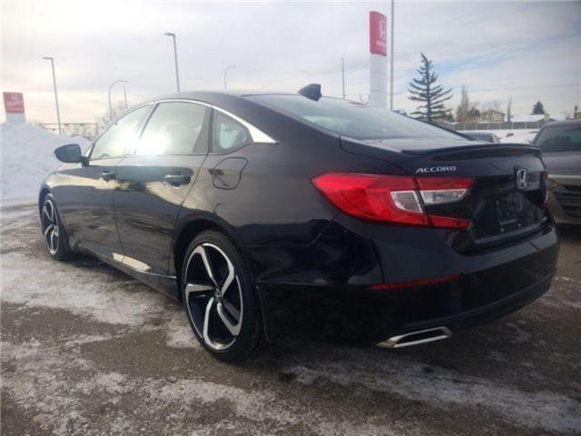 2019 Honda Accord Sport 1.5T (Stk: 2190370) in Calgary - Image 3 of 9