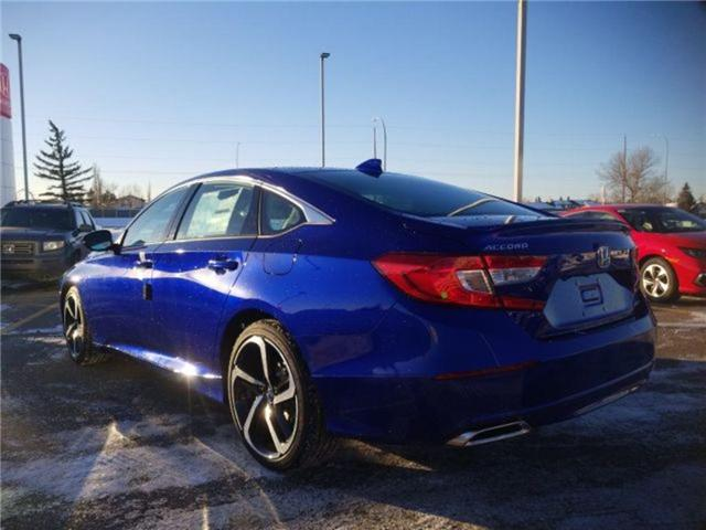 2019 Honda Accord Sport 1.5T (Stk: 2190259) in Calgary - Image 3 of 9