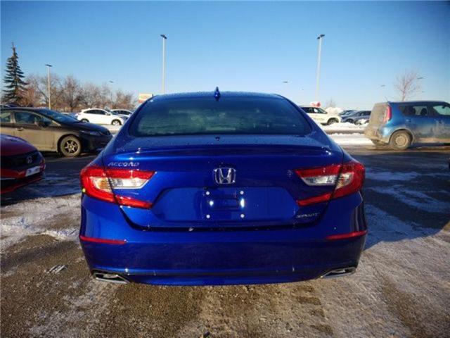 2019 Honda Accord Sport 1.5T (Stk: 2190259) in Calgary - Image 7 of 9