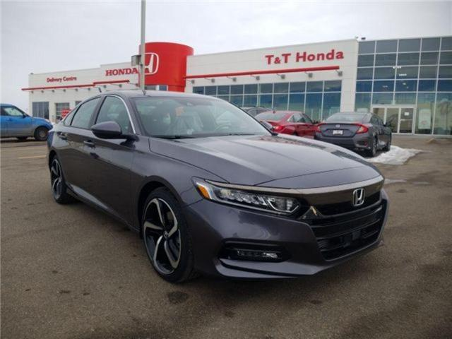 2019 Honda Accord Sport 2.0T (Stk: 2190296) in Calgary - Image 1 of 9
