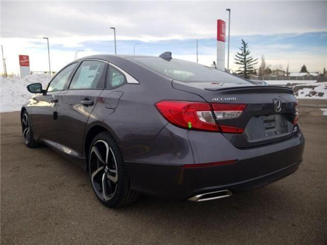 2019 Honda Accord Sport 2.0T (Stk: 2190296) in Calgary - Image 3 of 9