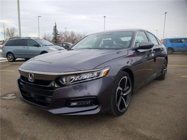 2019 Honda Accord Sport 2.0T (Stk: 2190296) in Calgary - Image 4 of 9