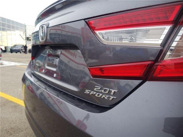 2019 Honda Accord Sport 2.0T (Stk: 2190296) in Calgary - Image 6 of 9