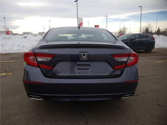 2019 Honda Accord Sport 2.0T (Stk: 2190296) in Calgary - Image 7 of 9