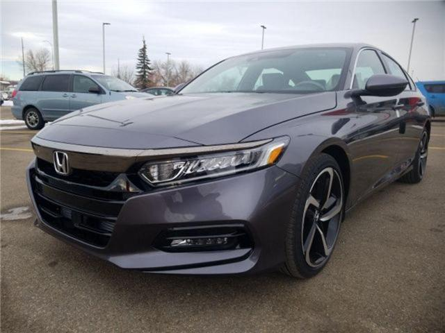 2019 Honda Accord Sport 2.0T (Stk: 2190296) in Calgary - Image 8 of 9