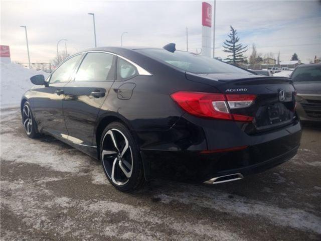 2019 Honda Accord Sport 2.0T (Stk: 2190294) in Calgary - Image 3 of 9