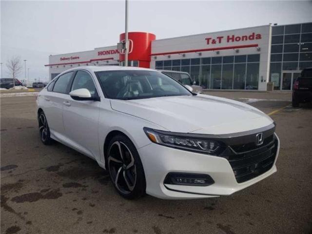 2019 Honda Accord Sport 1.5T (Stk: 2190312) in Calgary - Image 1 of 9