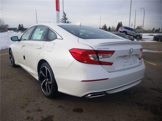 2019 Honda Accord Sport 1.5T (Stk: 2190312) in Calgary - Image 3 of 9