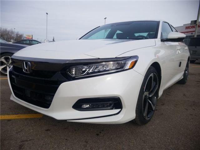 2019 Honda Accord Sport 1.5T (Stk: 2190312) in Calgary - Image 8 of 9