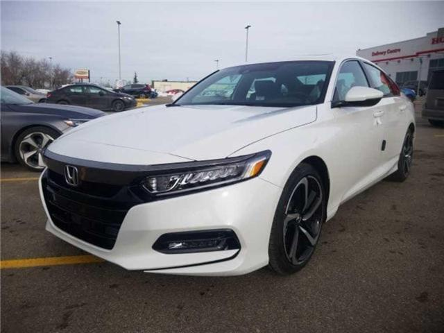 2019 Honda Accord Sport 1.5T (Stk: 2190313) in Calgary - Image 4 of 9