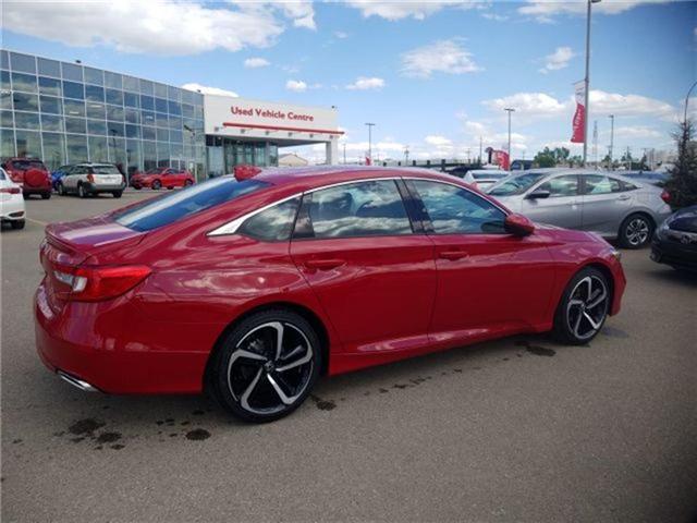 2018 Honda Accord Sport 2.0T (Stk: 2180325) in Calgary - Image 2 of 9