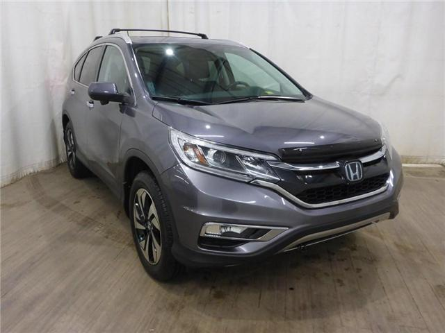 2015 Honda CR-V Touring (Stk: 19010523) in Calgary - Image 2 of 30