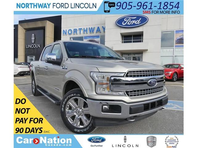 2018 Ford F-150 Lariat | DIESEL | NAV | HTD LEATHER | 502A (Stk: B016) in Brantford - Image 1 of 30