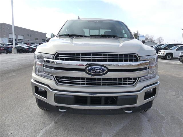 2018 Ford F-150 Lariat | DIESEL | NAV | HTD LEATHER | 502A (Stk: B016) in Brantford - Image 2 of 30