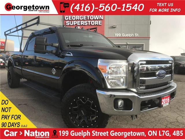 2016 Ford F-250 XLT | CREW | DIESEL | 8FT BOX | 4X4 | BACK UP CAM (Stk: P11742) in Georgetown - Image 1 of 30