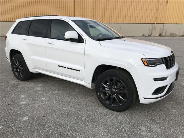 2019 Jeep Grand Cherokee Overland (Stk: 19708) in Windsor - Image 1 of 12