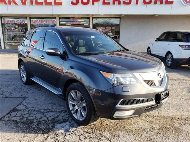 2013 Acura MDX ELITE TECH PKG | TV | LEATHER | NAV | ADAPT CRUISE (Stk: P11751) in Oakville - Image 2 of 27