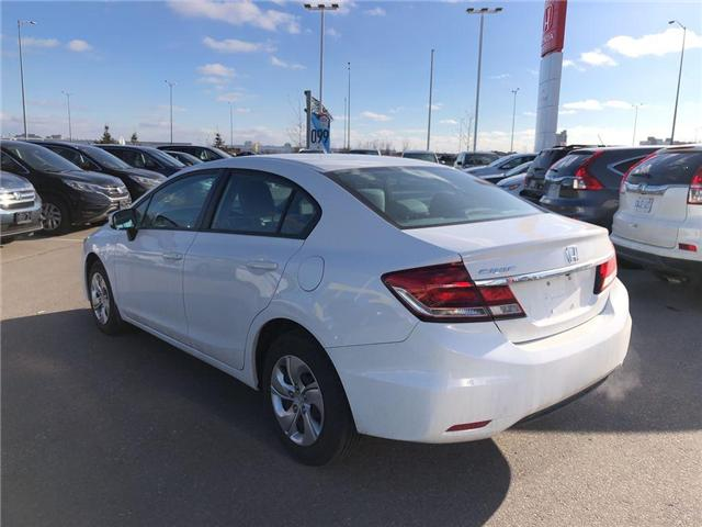 2015 Honda Civic LX (Stk: 66910A) in Mississauga - Image 3 of 5