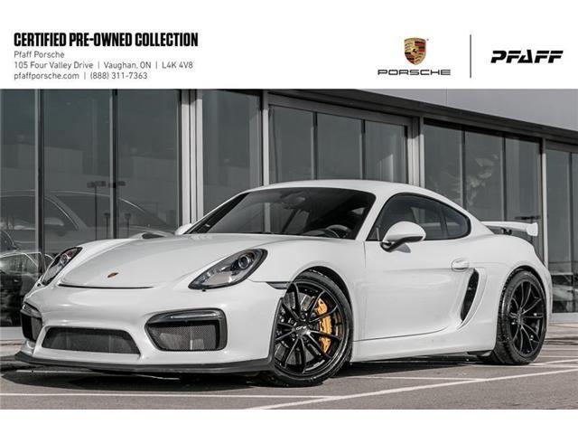 2016 Porsche Cayman GT4 (Stk: U7643) in Vaughan - Image 1 of 22