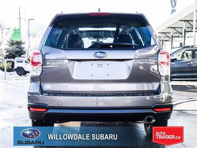 2018 Subaru Forester 2.5i Touring | SUNROOF | HEATED SEATS | BLUETOOTH (Stk: 18D44) in Toronto - Image 4 of 26