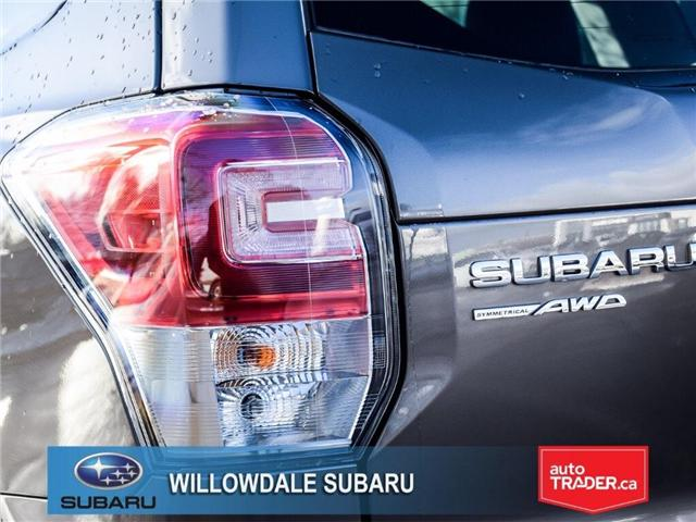2018 Subaru Forester 2.5i Touring | SUNROOF | HEATED SEATS | BLUETOOTH (Stk: 18D44) in Toronto - Image 8 of 26
