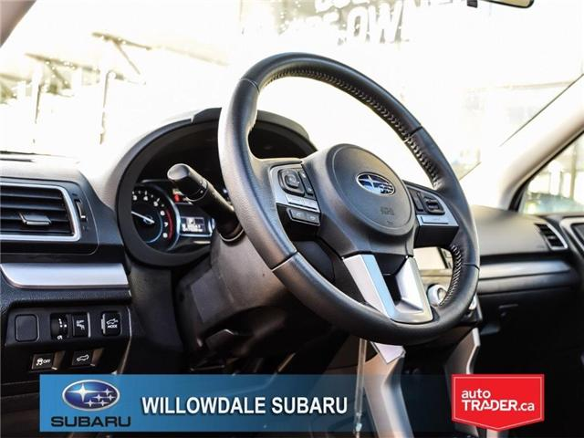 2018 Subaru Forester 2.5i Touring | SUNROOF | HEATED SEATS | BLUETOOTH (Stk: 18D44) in Toronto - Image 12 of 26