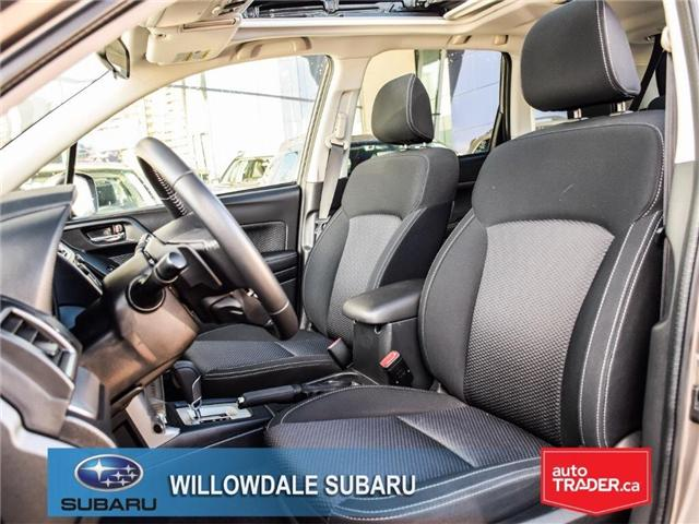 2018 Subaru Forester 2.5i Touring | SUNROOF | HEATED SEATS | BLUETOOTH (Stk: 18D44) in Toronto - Image 13 of 26