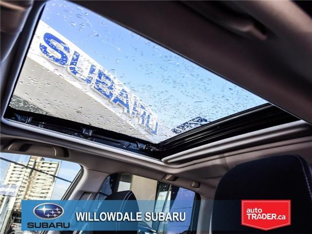 2018 Subaru Forester 2.5i Touring | SUNROOF | HEATED SEATS | BLUETOOTH (Stk: 18D44) in Toronto - Image 14 of 26