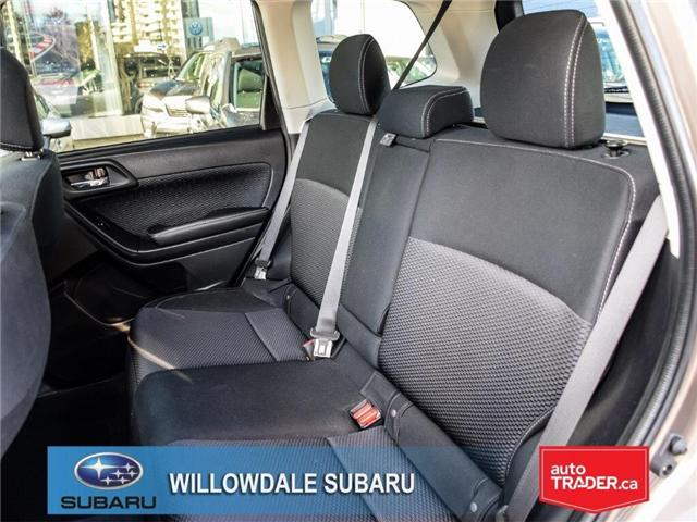 2018 Subaru Forester 2.5i Touring | SUNROOF | HEATED SEATS | BLUETOOTH (Stk: 18D44) in Toronto - Image 15 of 26
