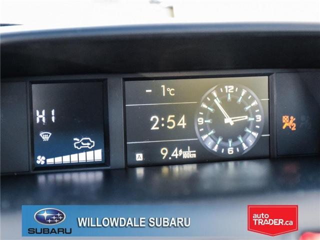 2018 Subaru Forester 2.5i Touring | SUNROOF | HEATED SEATS | BLUETOOTH (Stk: 18D44) in Toronto - Image 18 of 26