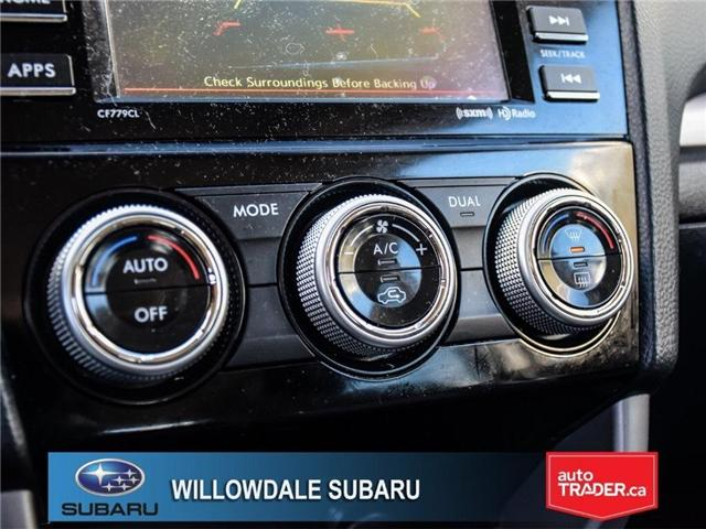 2018 Subaru Forester 2.5i Touring | SUNROOF | HEATED SEATS | BLUETOOTH (Stk: 18D44) in Toronto - Image 21 of 26