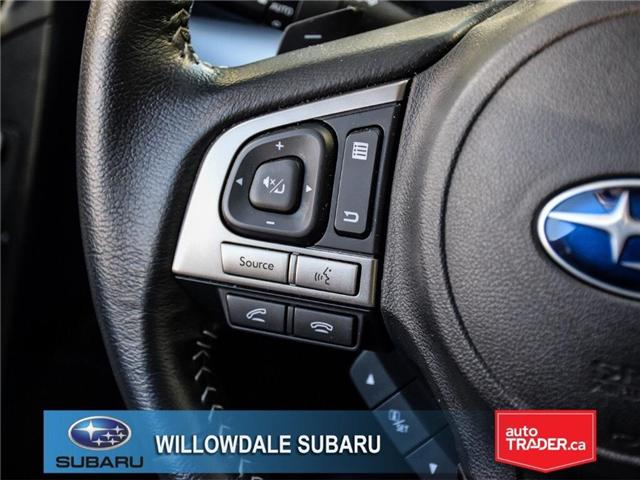 2018 Subaru Forester 2.5i Touring | SUNROOF | HEATED SEATS | BLUETOOTH (Stk: 18D44) in Toronto - Image 23 of 26