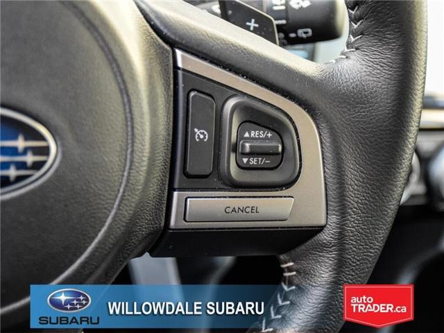 2018 Subaru Forester 2.5i Touring | SUNROOF | HEATED SEATS | BLUETOOTH (Stk: 18D44) in Toronto - Image 24 of 26