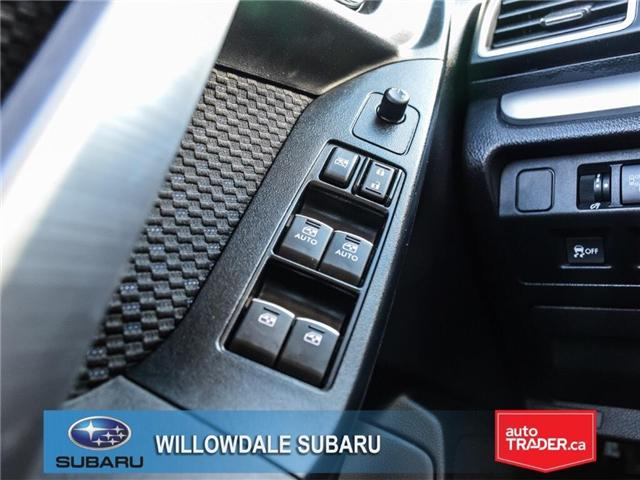 2018 Subaru Forester 2.5i Touring | SUNROOF | HEATED SEATS | BLUETOOTH (Stk: 18D44) in Toronto - Image 25 of 26