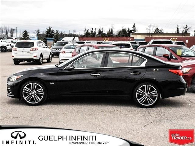 2016 Infiniti Q50  (Stk: I6791A) in Guelph - Image 3 of 24