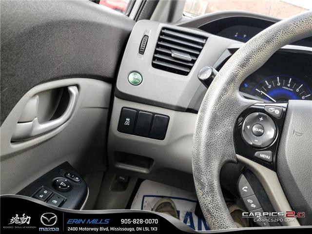2012 Honda Civic LX (Stk: P4446) in Mississauga - Image 11 of 17