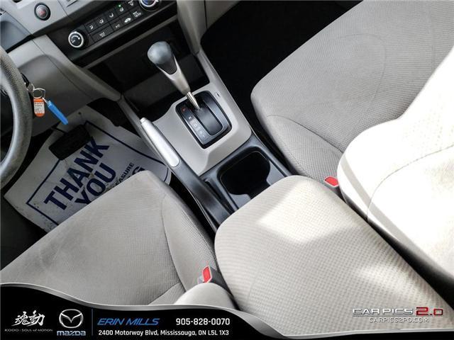 2012 Honda Civic LX (Stk: P4446) in Mississauga - Image 12 of 17